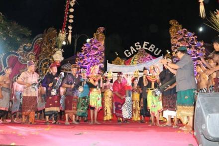 Pergelaran Gelar Seni dan Budaya (GaSeBu) Kecamatan Sukasada 2018