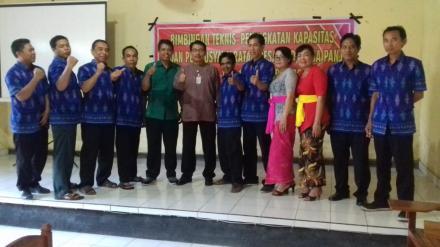 Bimbingan Teknis Peningkatan Kapasitas Badan Permusyawaratan Desa (BPD) Desa Panji 2018