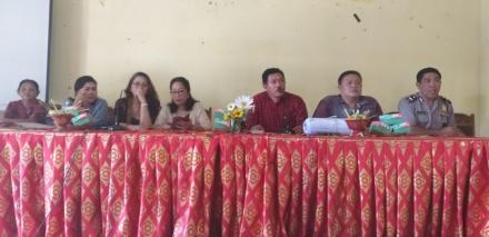 Sosialisasi Dan Penyambutan Tahun Baru 2019 Desa Panji