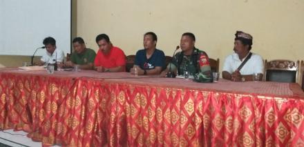 Pengarahan Kepada Linmas Dan Pecalang Desa Panji Dalam Rangka Pelaksanaan Pemilihan Umum Tahun 2019