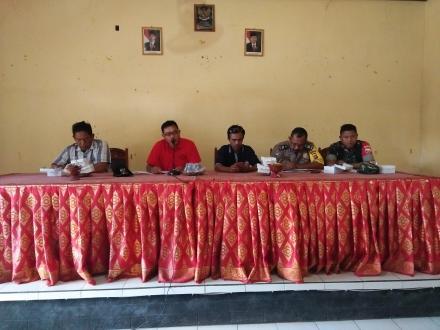 RAPAT PEMBENTUKAN PANITIA PEMILIHAN BPD PANJI PERIODE TAHUN 2019 - 2025